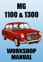 MG 1100 and 1300 Workshop Manual