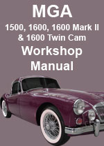 MGA and MGA Twin Cam Workshop Manual