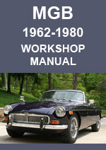 MGB and MGBGT Workshop Manual